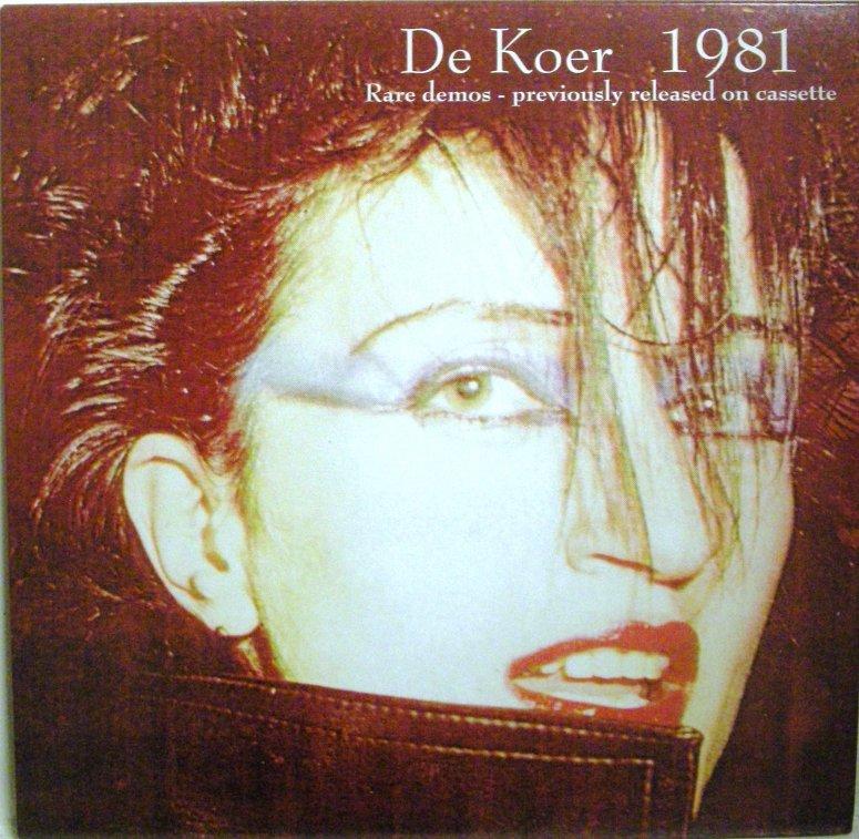 de Koer 1981 LP cover front
